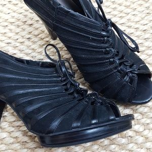 Granny Lace Up Shoe